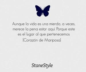 corazon de mariposa, book, and amor image