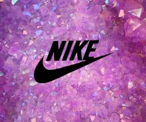 nike, 紫, and 加工 image