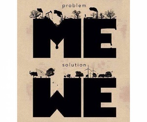 me, solution, and problem image
