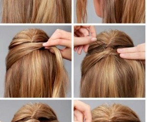 hair, blonde, and Easy image