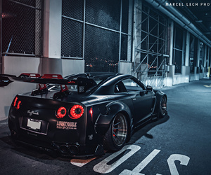 cars, night, and nissan image