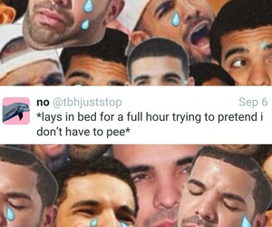 Drake, funny, and lol image