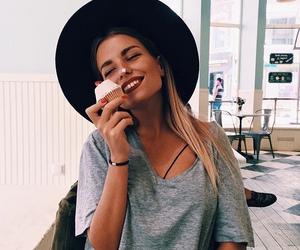 girl, cupcake, and style image