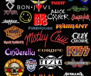 Guns N Roses, twisted sister, and journey image