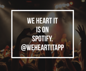 music, tunes, and we heart it image