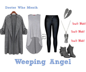 doctor who, weeping angel, and plus size image
