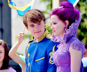 dove cameron, disney, and descendants image