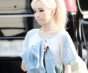 taeyeon, girls' generation, and kpop image
