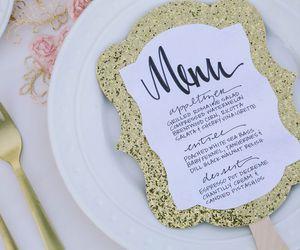 menu, wedding, and pinterest image