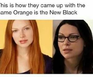 funny, orangeisthenewblack, and girl image