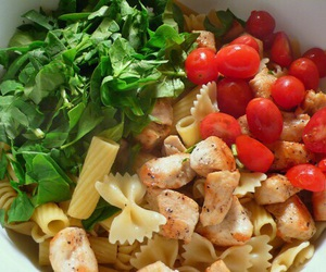 healthy, food, and tomatoes image