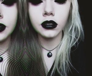 demon, alien, and black lips image