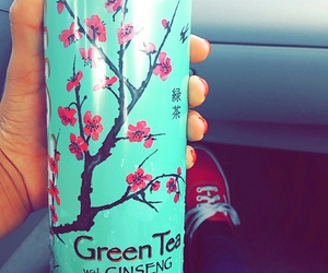 green, green tea, and healthy image