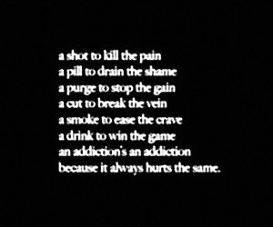 quote and depression image