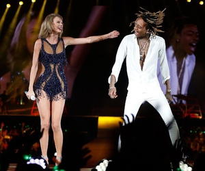 Taylor Swift, wiz khalifa, and 1989 image