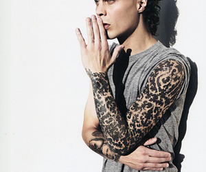 ville valo, tattoo, and him image