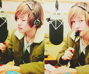 boy, korean, and Onew image