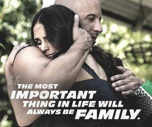 family, fast and furious, and Vin Diesel image