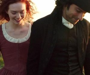 bbc, couple, and period drama image