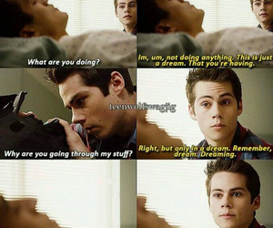 teen wolf, stiles, and danny image