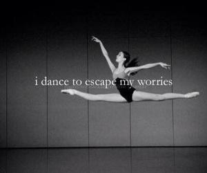 dance, ballet, and worries image