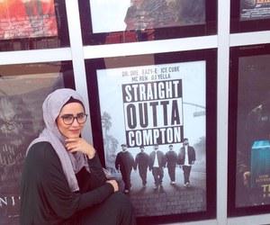 beauty, muslim, and hidjab image