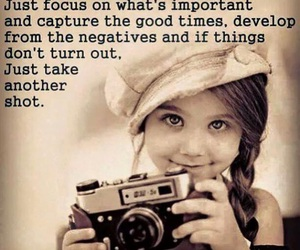 life, camera, and quote image