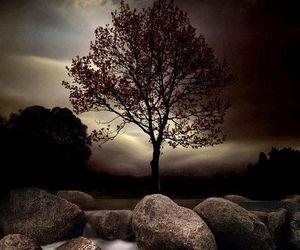 ireland and moonrise image