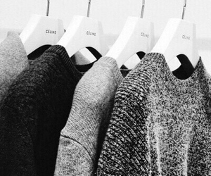 clothes, sweater, and grey image