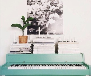 piano, vintage, and cool image