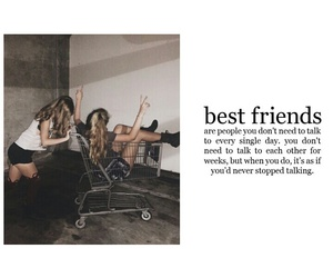 friends, happy, and words image
