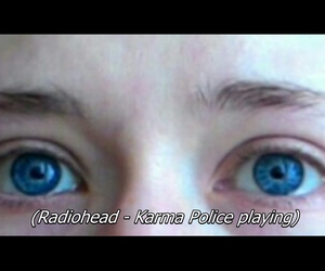 blue, blue eyes, and blur image