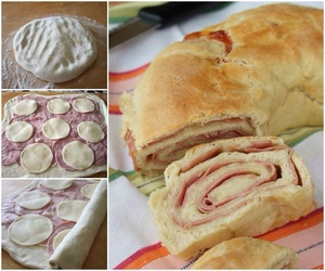 baking, cheese, and cooking image