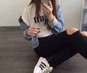 adidas, blue, and jacket image