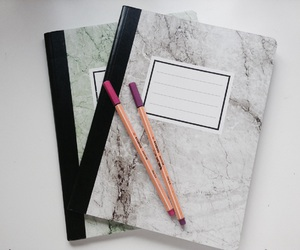 colour, work, and notebook image