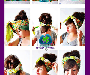tutorial, hair, and style image