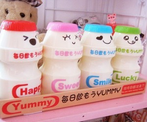 cute, drink, and japanese image