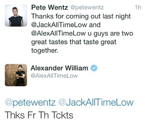 all time low, fall out boy, and funny image