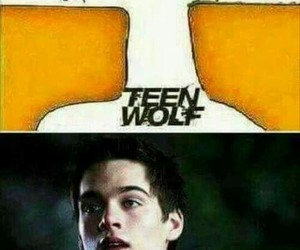 hole, teenwolf, and liam image