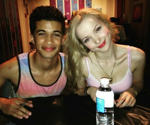 pink, jordan fisher, and dove cameron image