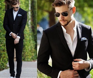 fashion, handsome, and look image
