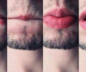 lips, boy, and sexy image