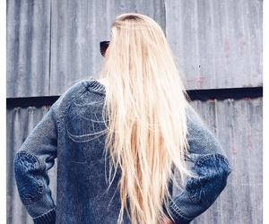 beautiful, blonde hair, and boho image