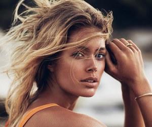 model, Doutzen Kroes, and hair image