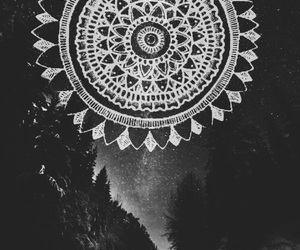 mandala, wallpaper, and grunge image