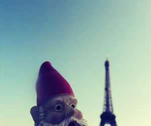 amelie, gnome, and paris image