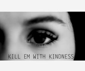 black&white, deep, and kind image