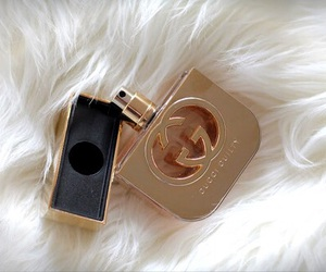 gucci, perfume, and gold image