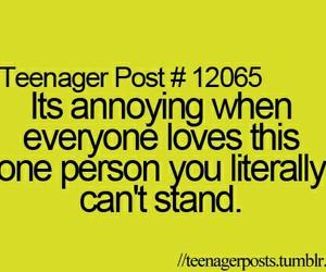 awkward, hate, and teenager post image