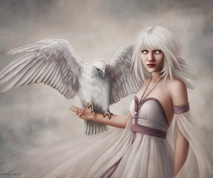 bird, deviantart, and fantasy image